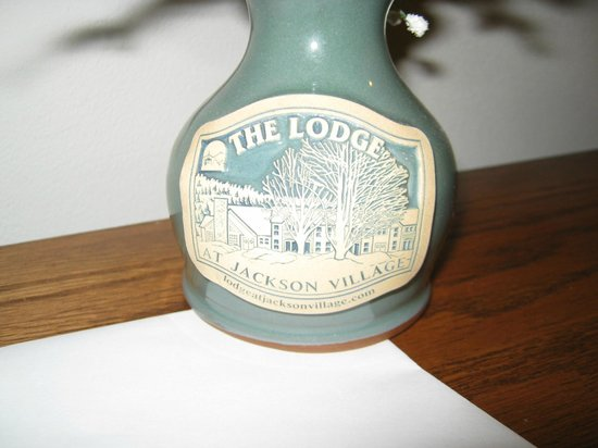 Lodge at Jackson Village: vase