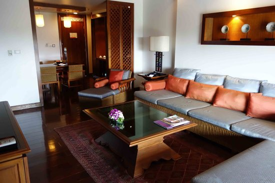 Ratilanna Riverside Spa Resort Chiang Mai : living room