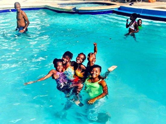 Kaliko Beach Club All-Inclusive Resort: our kids at kaliko