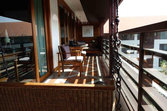 Ratilanna Riverside Spa Resort Chiang Mai: balcony