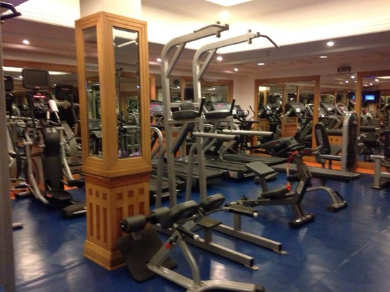 Radisson Blu Hotel Chennai City Centre : Gym is well equipped and the staff keeps fresh towels and bottled water available.