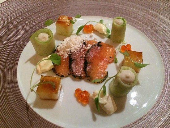 The Dining Room : Salmon