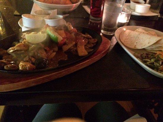 The Porterhouse Gastropub: Sizzling fajitas. Delicious.