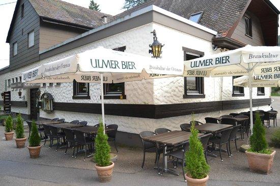 Restaurant Hotel Nachtigall: Biergarten
