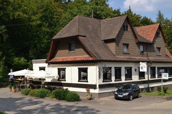 Restaurant Hotel Nachtigall: Restaurant/Biergarten