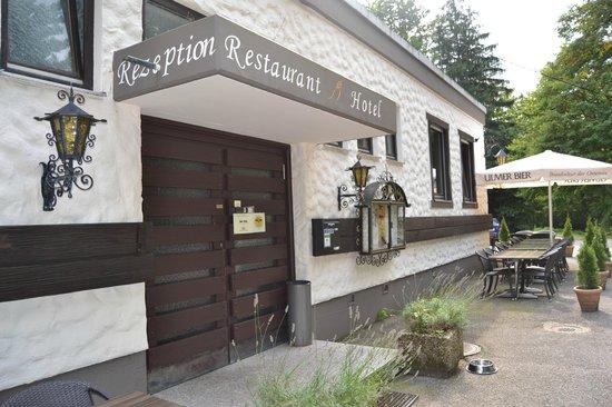 Restaurant Hotel Nachtigall: Eingang