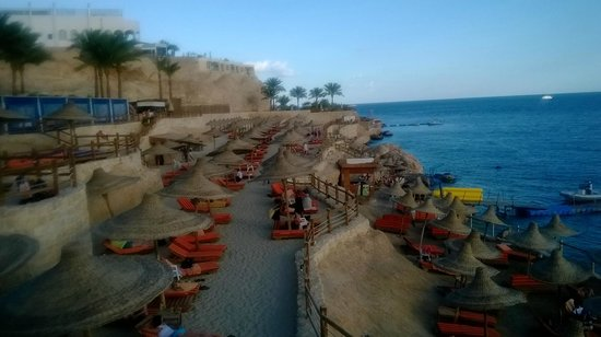 Sharm Plaza Hotel : Beach