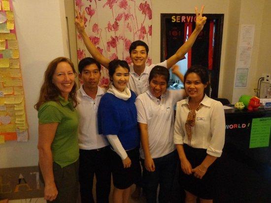 HueNino Hotel: Friendly Staff
