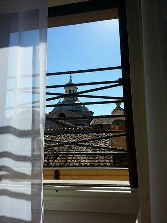 Navona Queen : Вид из окна номера