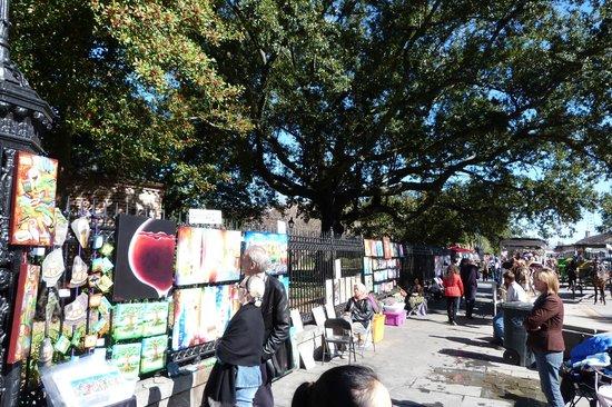 "Jackson Square: ""Art"" for sale"