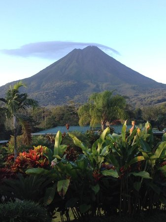 Arenal Manoa Hotel: The view from our room's patio!!!!