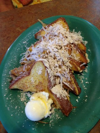 Kountry Kitchen : Coconut French Toast.