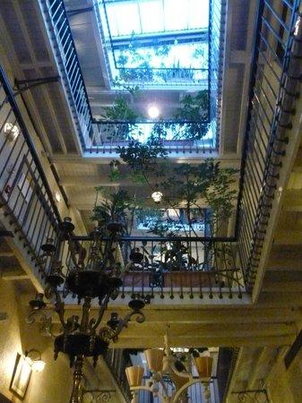 Grand Hotel d'Orleans: Cour intérieure