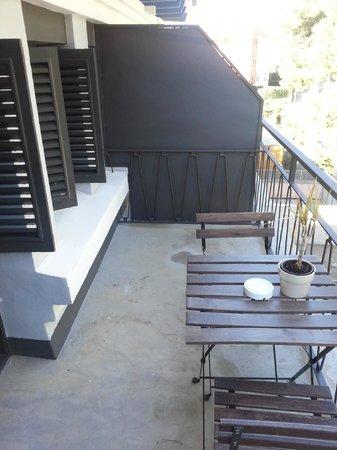 Hotel Sitges: Balcón