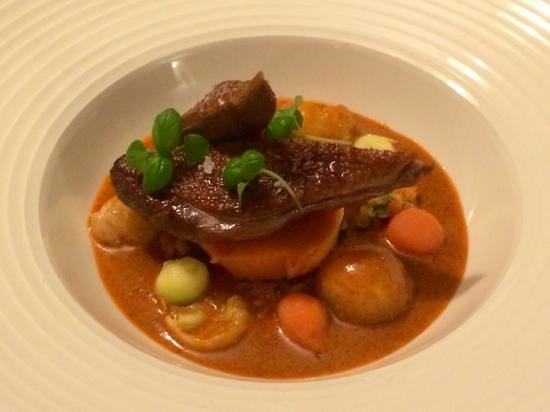 The King and Thai: Delicious Duck main course from the daily specials list