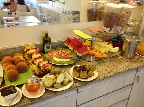 Boutique Hotel Casa Teatro : Part of the free breakfast