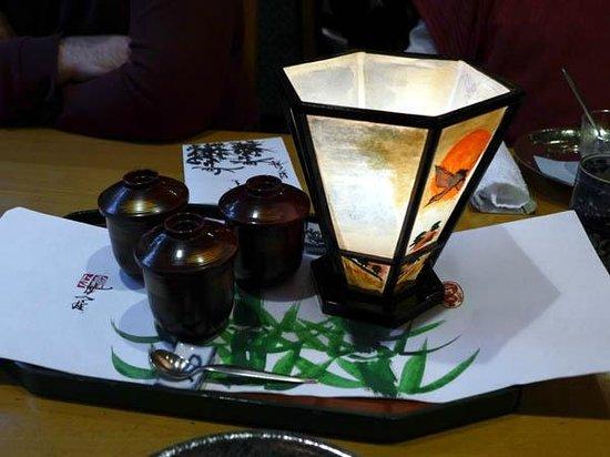Tsukiji Tamura, Tsukiji: Dessert Presentation