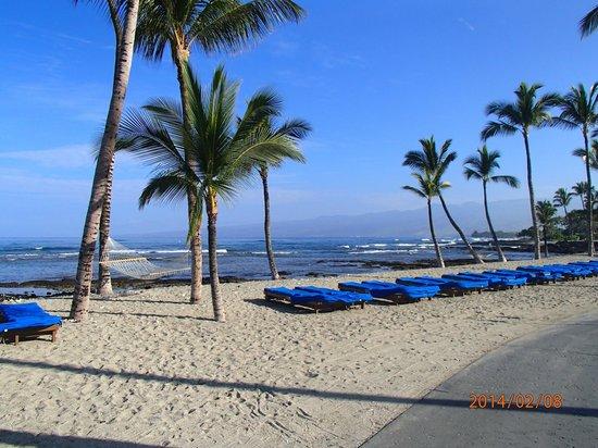 Mauna Lani Bay Hotel & Bungalows: Beach!