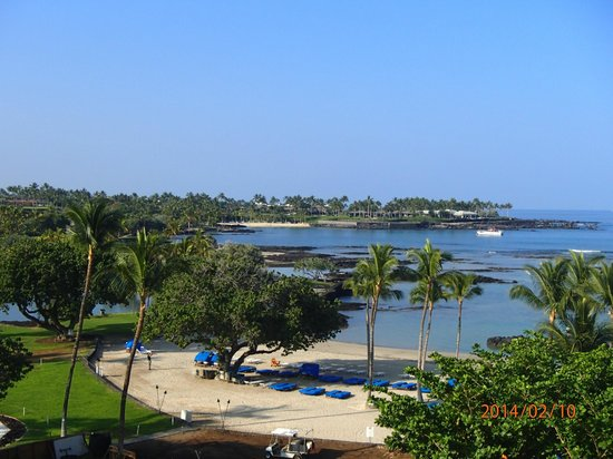 Mauna Lani Bay Hotel & Bungalows : Pretty views