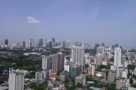 The Continent Hotel Bangkok by Compass Hospitality: view from the restaurant