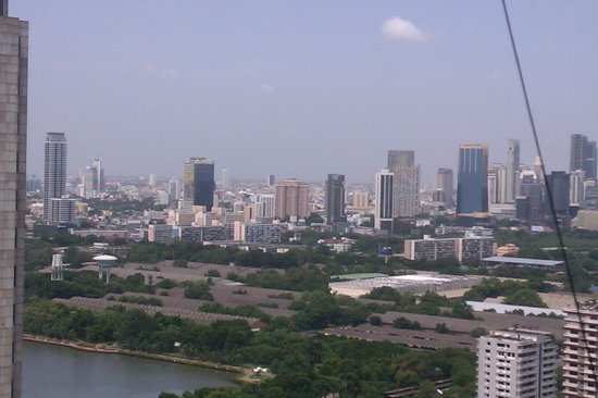 The Continent Hotel Bangkok by Compass Hospitality: views from the restaurant at 35th