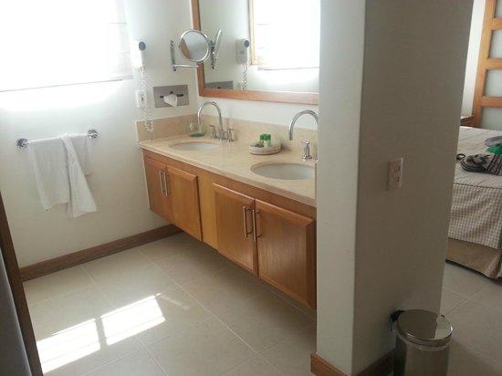Irotama Resort: Doble lavamanos