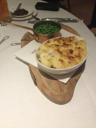 Marco Pierre White Steakhouse Bar & Grill Chester: Shepherd's Pie