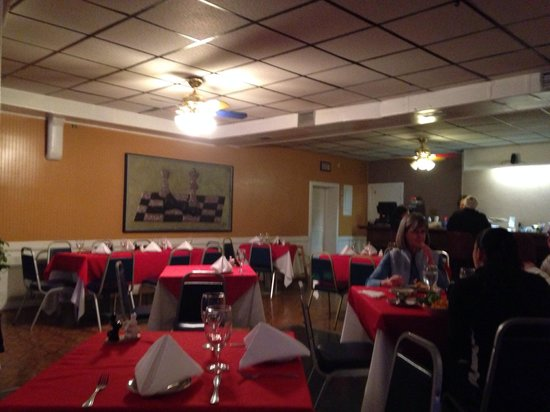 Aromas Del Sur: The other side of the dining area