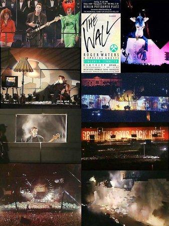 Potsdamer Platz: The Wall live in Berlin (21st July 1990)