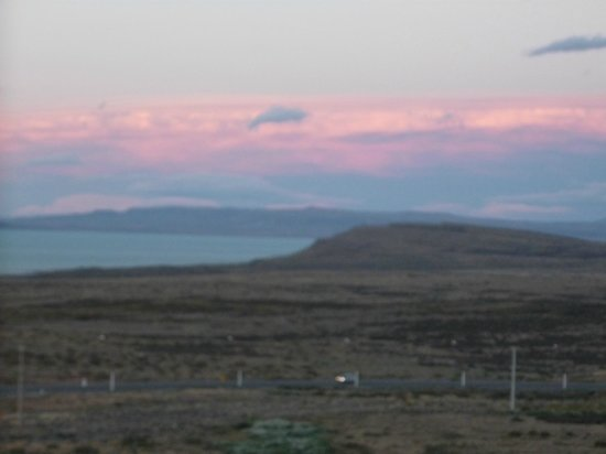 Alto Calafate Hotel Patagonico: ATARDECER