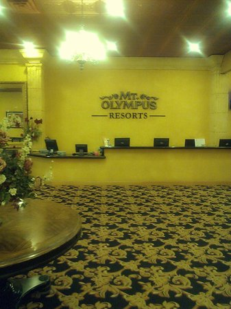 Mt. Olympus Resort: lobby