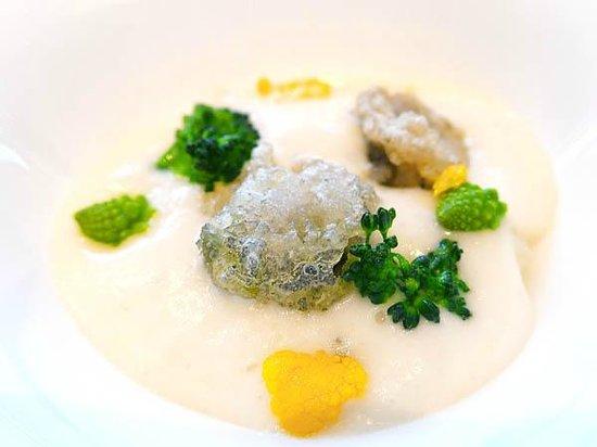 Restaurant Sant Pau: Sea anemone!