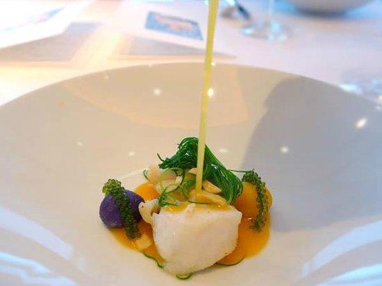 Restaurant Sant Pau: White fish - Grouper