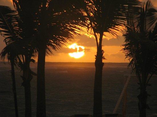 ClubHotel Riu Bambu : Sunrise! Absolutely breath-taking