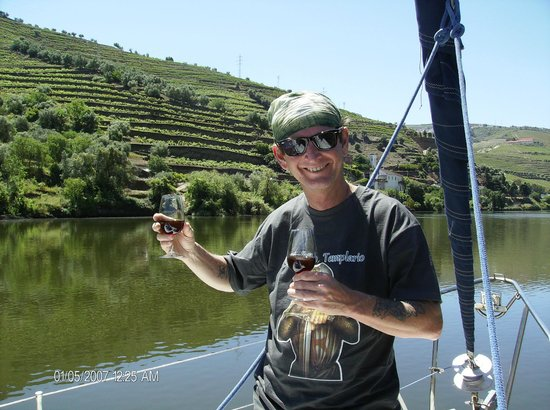 Anima Durius Douro River Cruises : look at that great tawny port!