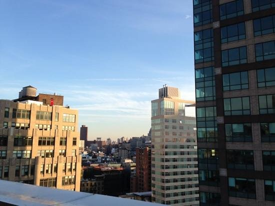 Hampton Inn Manhattan-SoHo : Williamsburg Bridge in distance..