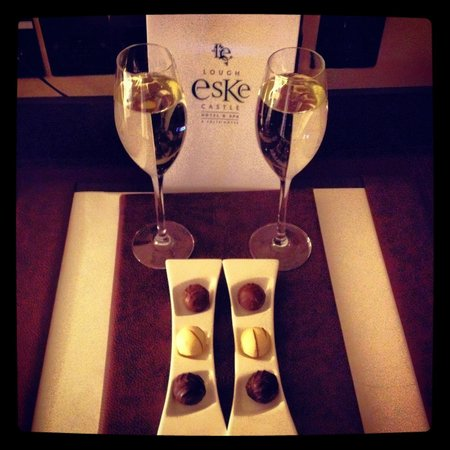 Lough Eske Castle, a Solis Hotel & Spa: Wine & Chocolates