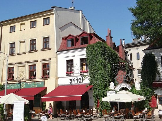 """Jewish District (Kazimierz): Vista del """"corazón"""" del Barrio Judío de Cracovia"""
