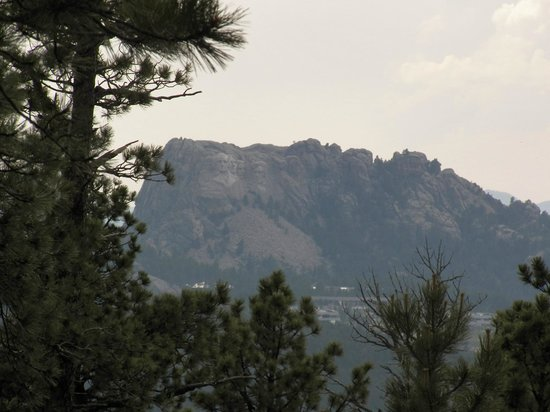 Iron Mountain Road : View of Mt. Rushmore for the overlook