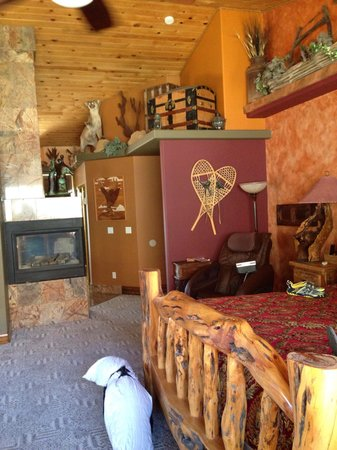 Zion Canyon Bed and Breakfast : The master room