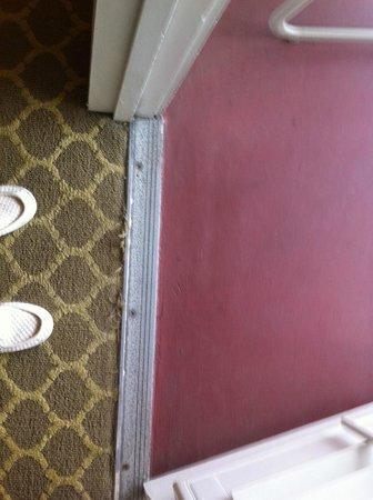 Hotel del Coronado: rug in guest room