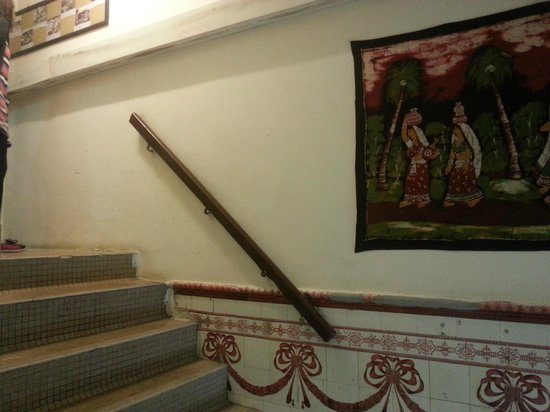 The Mitraa: Staircase to room