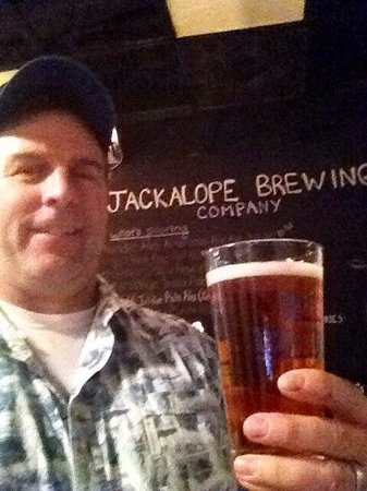 Jackalope Brewing Company: Gotta try the product!