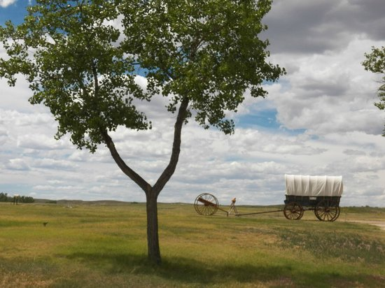 Fort Laramie National Historic Site: The prairie surrounding the fort