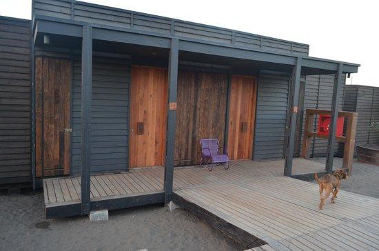 Hotel Alaia - Punta de Lobos: habitacion (lado contratio a la playa)