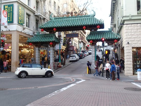 San Francisco Bay: China Town, Adventure Bums, Get off the Path
