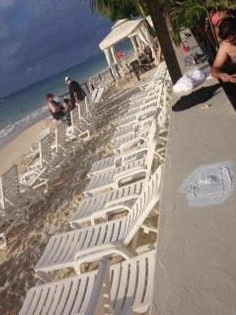 Royal Palms Beach Club: Beach chairs a plenty