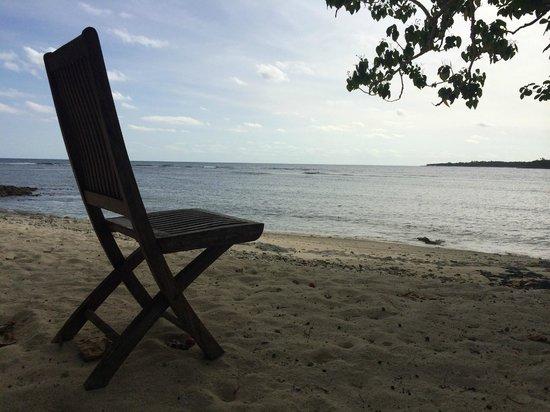 Erakor Island Resort & Spa : Outlook to Pacific Ocea