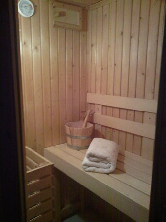 Darwin Forest Country Park : sauna