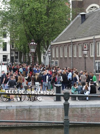 Anne Frank House: Don't forget to Pre-Book and Avoid these lines!!